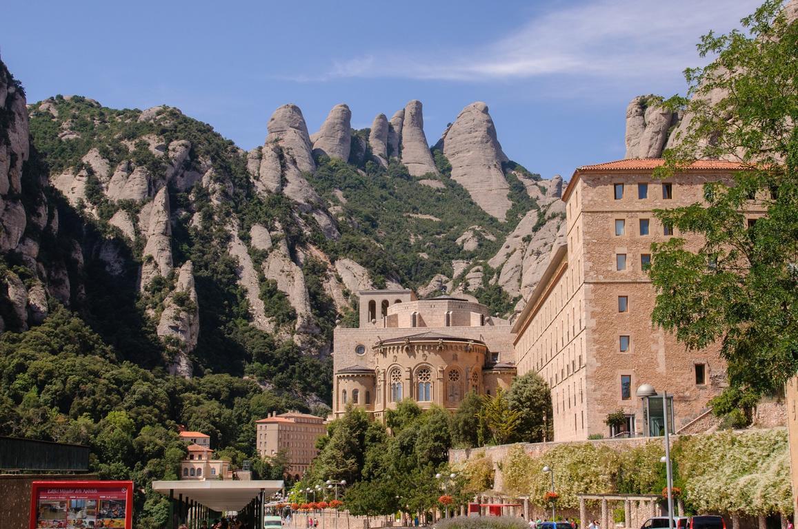 Ausflugsziel Montserrat in Katalonien